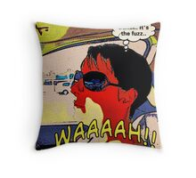 THE 1960'S BUST Throw Pillow