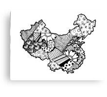 China ZenDoodle Canvas Print