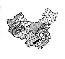 China ZenDoodle Photographic Print