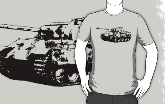 Panther Tank by deathdagger