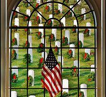 Arlington National Cemetery by Daniel B McNeill