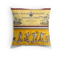 Solar Rangers, Papamoa 5th Drift Core Throw Pillow