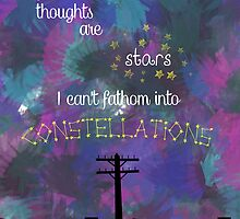 My Thoughts are Stars - from TFIOS by Caylie Ratzlaff