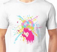 Fluff_of_a_Dandelion Unisex T-Shirt