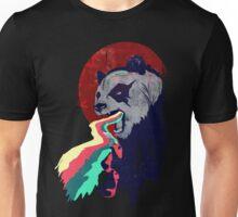 Angry Rainbow Panda Unisex T-Shirt