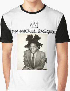Jean Michel Basquiat Graphic T-Shirt