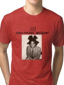 Jean Michel Basquiat Tri-blend T-Shirt