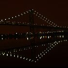 Ambassador Bridge by Christmas Night, by Elisabeth and Barry King™ by BE2gether