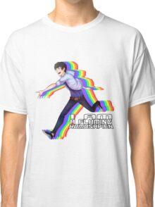 Flaming Homosapien! Classic T-Shirt