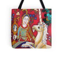 Lady & The Unicorn (La Vue) Tote Bag