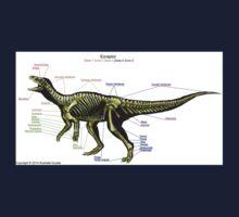 Eoraptor Skeleton Study Baby Tee