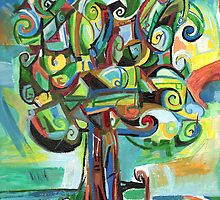 Lyrical Tree by Genevieve Esson