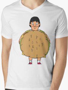 Gene Belcher Illustration Mens V-Neck T-Shirt
