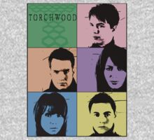 Torchwood Pop Art by Misha0Castiel