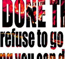 Memphis May Fire! Sticker