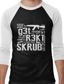 Counter Strike Global Offensive  Men's Baseball ¾ T-Shirt