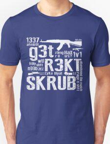 CounterStrike GetRektSkrub Unisex T-Shirt