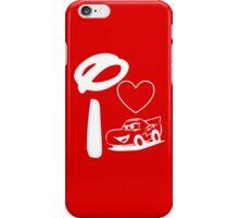 I Heart Cars Land (Inverted) iPhone Case/Skin