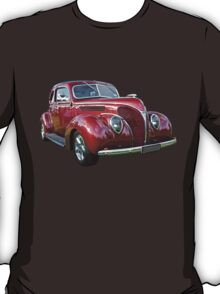 Red 1938 Ford Coupe T-Shirt