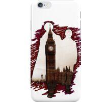 Sherlock Holmes Sillhoute iPhone Case/Skin
