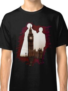 Sherlock Holmes Sillhoute Classic T-Shirt