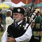 Bagpiper by Dave Davis
