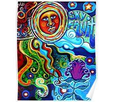 Sky Fruit Poster