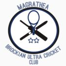 Magrathea Brockian Ultra Cricket Club by kmtnewsman