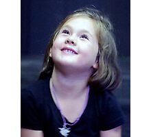 A dear little  Angel called Evie Photographic Print