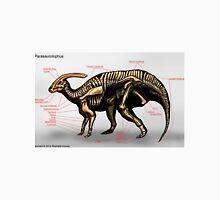 Parasaurolophus Skeleton Study Unisex T-Shirt