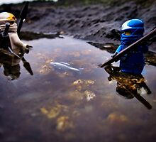 Winter tide-pool fishing part 3: patience by bricksailboat