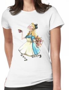 Alice & Dina Womens Fitted T-Shirt
