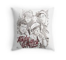 Andy Griffith Sketch Throw Pillow