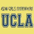 asian Girls Everywhere UCLA blue by Chasingbart
