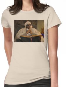 Shizzle Clause Womens Fitted T-Shirt