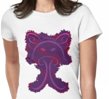 Frantonio (on purple with red) Womens Fitted T-Shirt