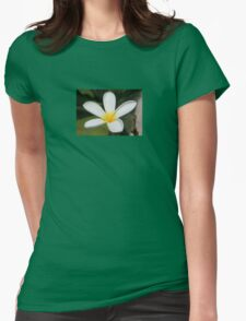 A Single Plumeria Flower Macro T-Shirt