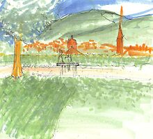 Firenze from the park by Tigerbuck