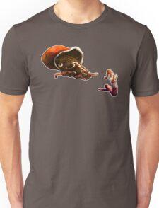 Earth Worm Jim making his big escape Unisex T-Shirt