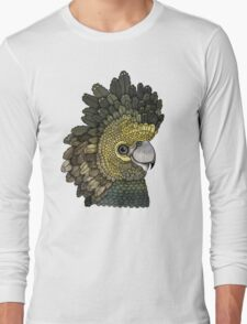 Black Cockatoo Long Sleeve T-Shirt