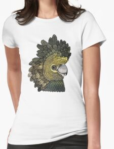 Black Cockatoo Womens Fitted T-Shirt