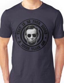 Hipster Abe Unisex T-Shirt