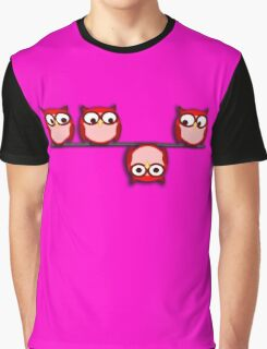 Another perspective for the owl Graphic T-Shirt