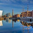 Albert Dock Liverpool by George Standen