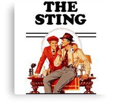 The Sting Canvas Print