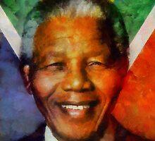 Nelson Mandela by Kai Saarto