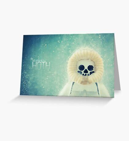 Hoth Greeting Card