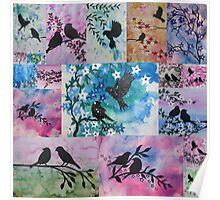 Romantic birds  Poster