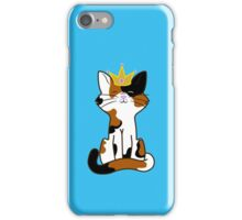 Calico Cat Princess with Gold Crown iPhone Case/Skin