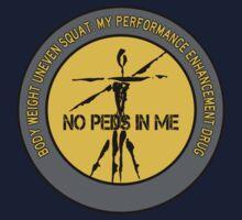 Body Weight Uneven Squat - My Performance Enhancement Drug Kids Tee